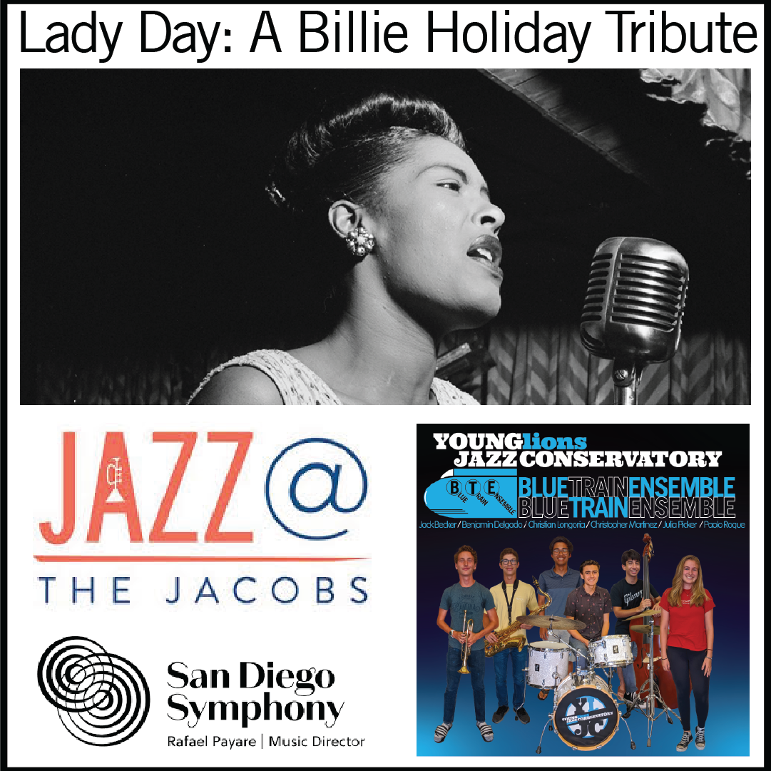 YLJC Open for Jazz @ The Jacobs – Billie Holiday Tribute