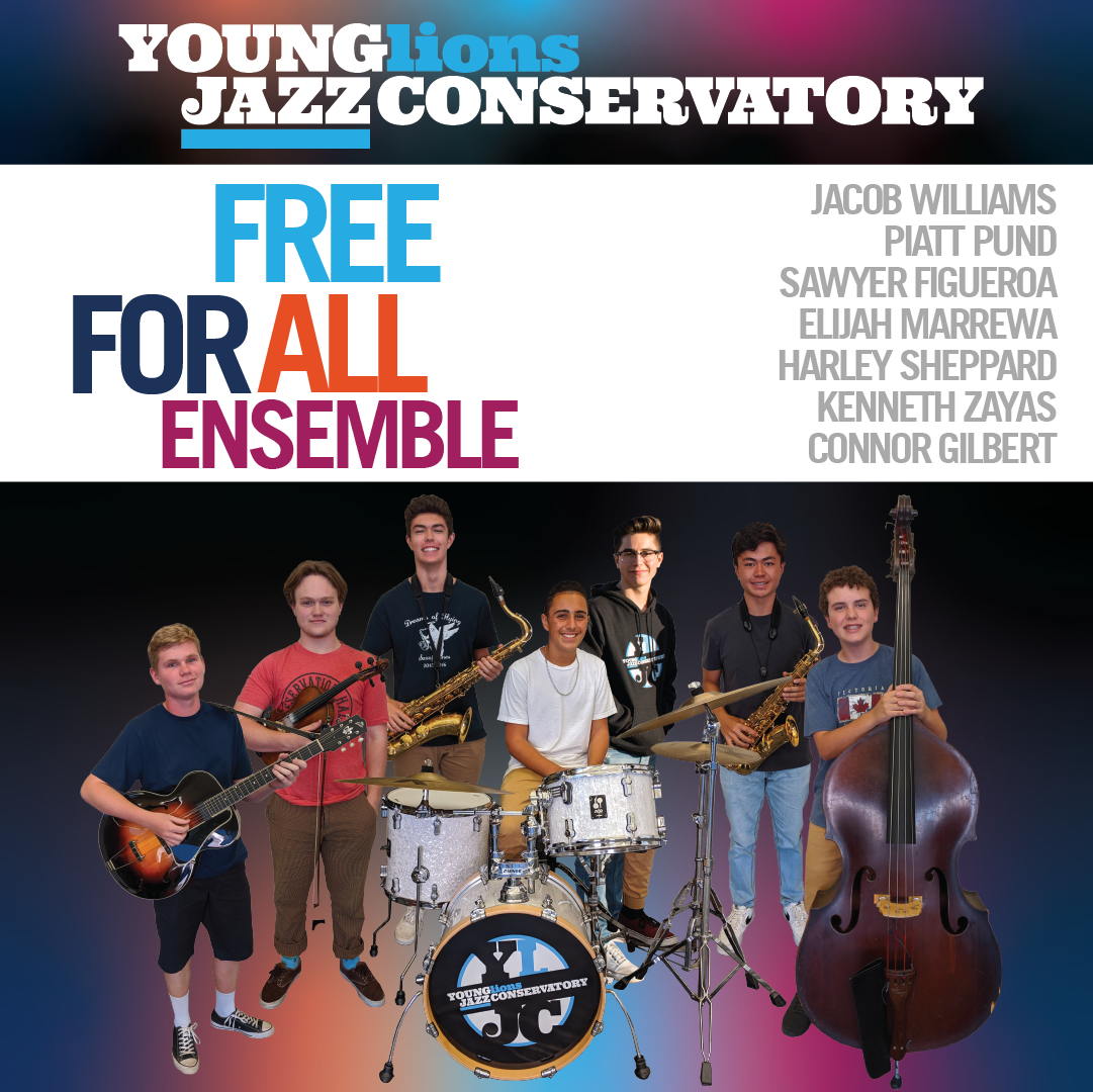Young Lions Series Presented By Gilbert Castellanos – Free For All Ensemble