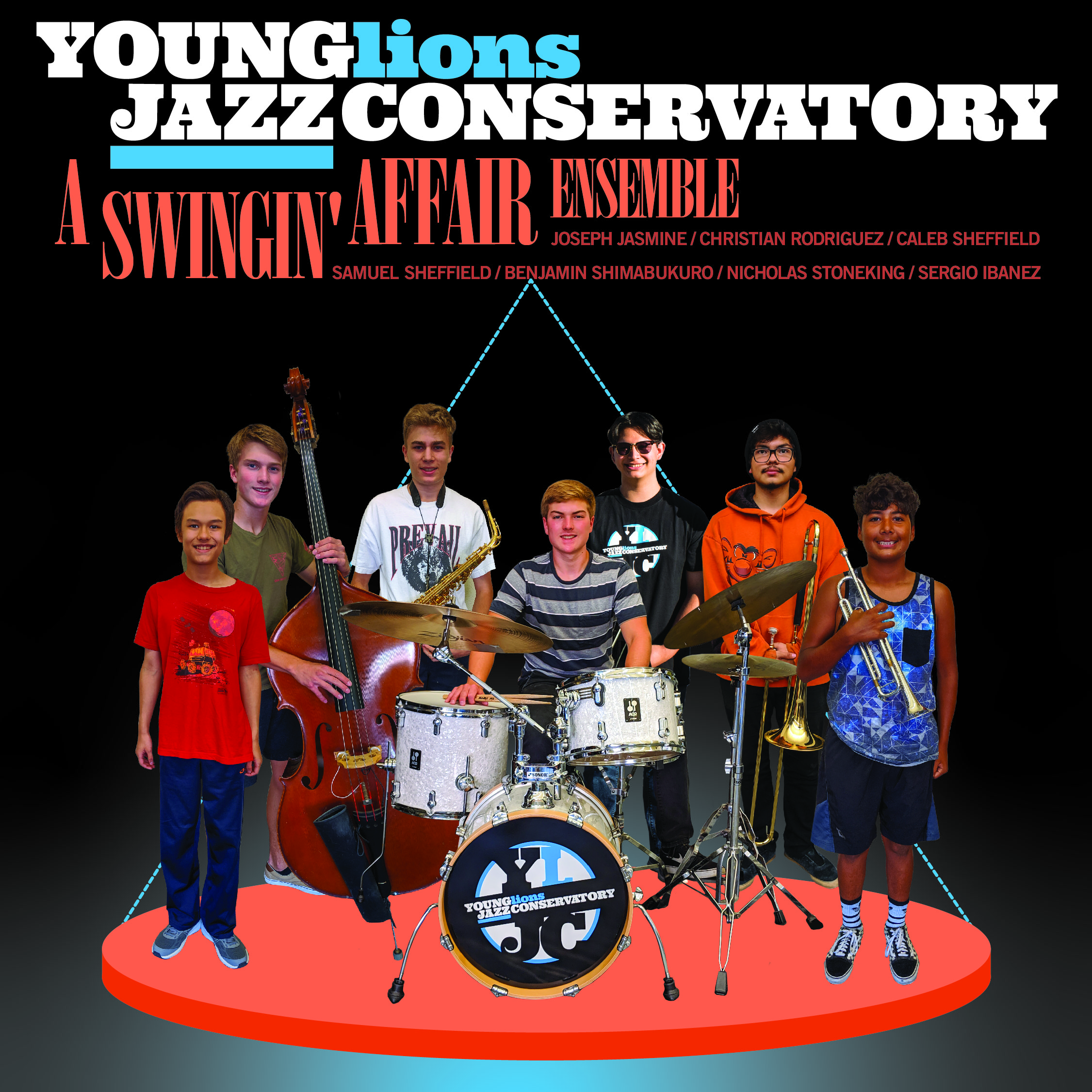 Young Lions Series Presented By Gilbert Castellanos – A Swingin' Affair Ensemble