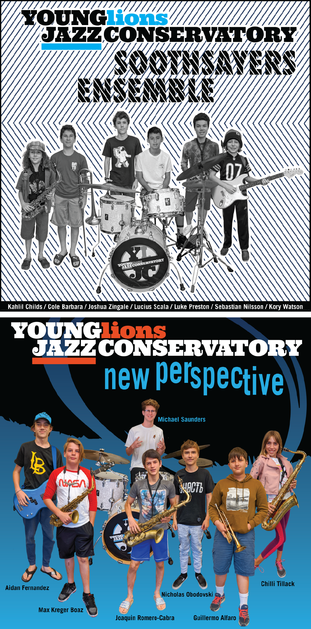 Young Lions Series Presented By Gilbert Castellanos – Soothsayers Ensemble & New Perspective Ensemble